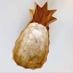 Other - Wooden Pineapple Catch-all Dish